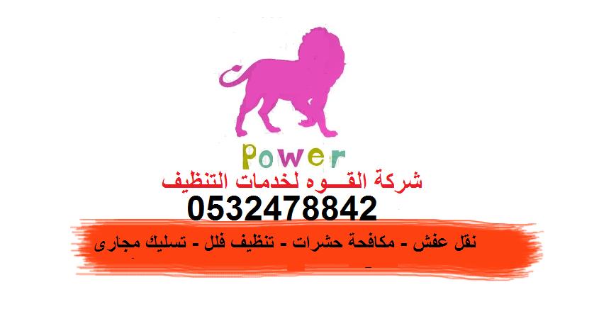 0532478842شركة القوة لتنظيف والمكافحة الحشرات